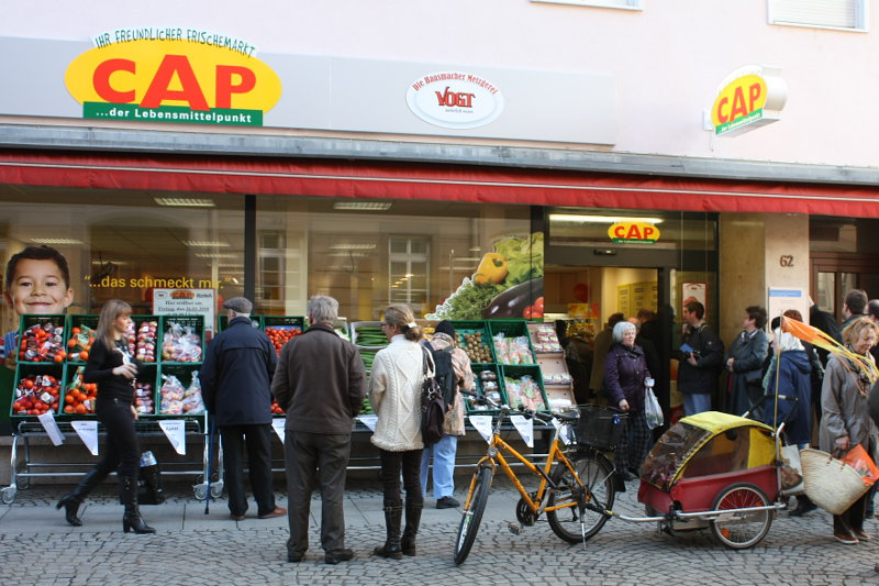 Impressionen vom CAP-Markt in Durlach