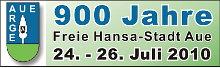 900 Jahre Freie Hansa-Stadt Aue