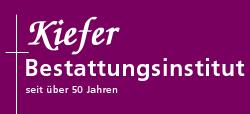 Beerdigungsinstitut Kiefer - Dem Leben einen würdigen Abschluss geben.