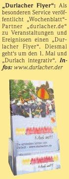 Wochenblatt (Gesamtausgabe) | 13. April 2011