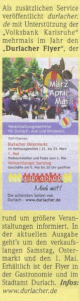 Wochenblatt - Das Journal für die Region | 14. März 2012