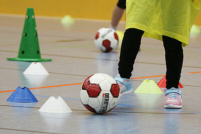 DJK.Ballschule – neue Kurse starten ab September. Foto: cg