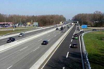 Autobahn A5 (Archiv). Foto: cg
