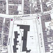 Pflasterarbeiten in der Marstallstraße und Karlsburgstraße. Grafik: Tiefbauamt