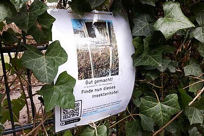 Auch außerhalb des Durlacher Schlossgartens kann man nun auf Bildersuche gehen. Foto: cg