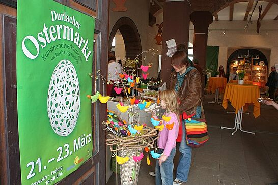 21 19. Durlacher Ostermarkt - Der Durlacher Ostermarkt findet wie immer pünktlich zweieinhalb Wochen vor Ostern im Durlacher Rathausgewölbe statt. (38 Fotos)