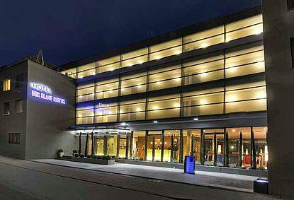 Hotel Der Blaue Reiter - Haupteingang