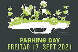 Park(ing) Day 2021. Grafik: Maki Kawaguchi