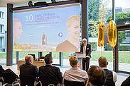 KTG-Geschäftsführer Klaus Hoffmann begrüßte die Gäste des 10. Karlsruher Tourismustages. Fotos: cg