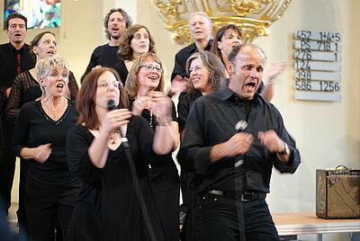 spirited voices - Gospel- & Jazzchor Karlsruhe. Foto: pm
