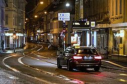 Risikogruppen: Karlsruher FDP wünscht sich eine anteilige Kostenübernahme bei Taxifahrten seitens der Stadt. Foto: cg