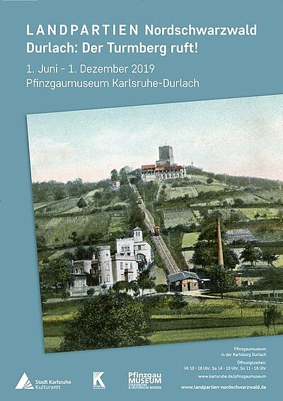 Durlach: Der Turmberg ruft! Grafik: pm