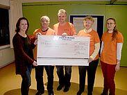 Durlacher Kommissionsflohmarkt spendet 1.500 Euro an den Kinderhospizdienst Karlsruhe. Foto: pm