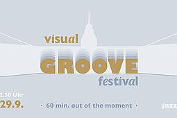 """""""Visual Groove"""" vor dem Karlsruher Schloss vom 27. bis 29. September 2021. Grafik: pm"""