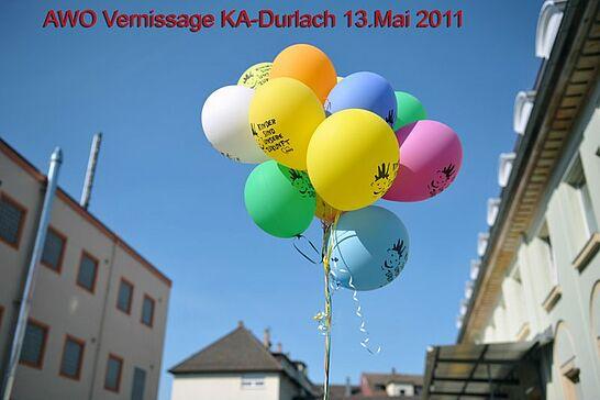 14 AWO-Ausstellung - Ausstellung der Sozialtherapeutischen Gruppen aus Durlach, Aue und Oberreut bei der AWO im Durlacher Postgebäude. (54 Fotos)