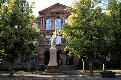 Friedrich-Realschule in Durlach. Foto: cg