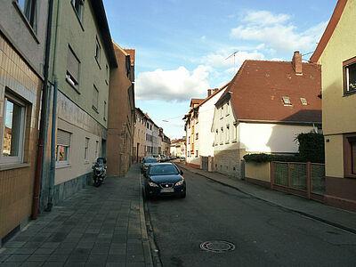 Die Westmarkstraße in Aue. Foto: pm