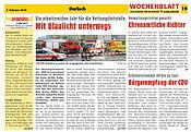 Wochenblatt - Das Journal für die Region | 03. Februar 2010