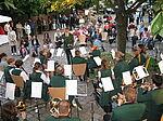 Musikverein Durlach bei ihrer Sommerserenade 2007.