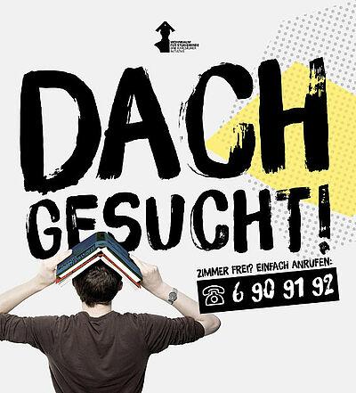 """Dach gesucht!"" Grafik: pm"