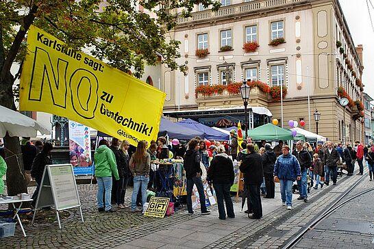 September - Das Fingerlabyrinth wurde eröffnet, die Leser von www.durlacher.de und dem Wochenblatt waren Klettern und das Mega-September-Wochenende sorgte für viele Besucher. (3 Galerien)