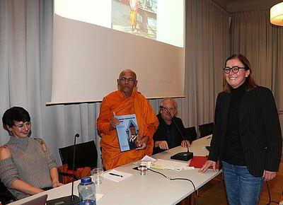 Durlacher Stadtdenker präsentierte seine Gedanken. Foto: pm