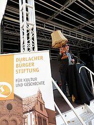 Unterhaltung pur beim 8. Durlacher Bürgerbrunch. Foto: pm
