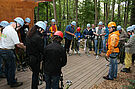 4. Erlebnis-Tour zum Waldseilpark Karlsruhe am 08. September 2011