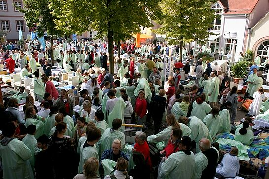 """23 Radio Regenbogen - Stadtwette - Der Sender Radio Regenbogen forderte die Durlacher mit seiner """"Stadtwette"""" heraus. (86 Fotos)"""