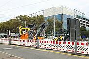 Baufeld rund um die neue IKEA-Filiale. Foto: cg
