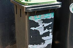 Biotonnen werden gereinigt. Foto: cg