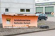 Autobahnmeisterei Durlach. Foto: cg