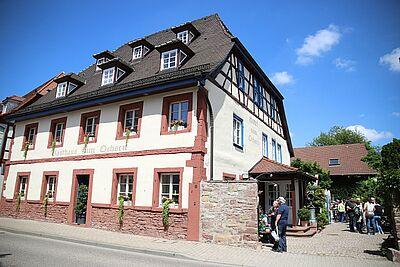 Gasthaus zum Ochsen: Das Kulturdenkmal in der Pfinzstraße soll zukünftig keine Gastronomie mehr beherbergen. Foto: cg
