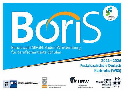 Pesta erhält das Boris Berufswahlsiegel. Grafik: pm