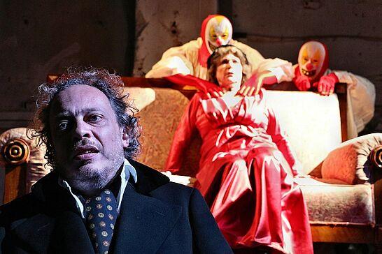 """August - Theater in der Orgelfabrik: """"Das Haus in der Rue Morgue"""" (1 Galerie)"""