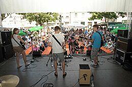 Talentwettbewerb beim Durlacher Alstadtfest. Foto: rk