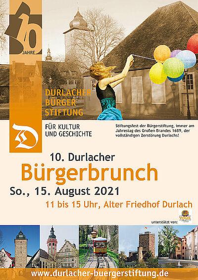 10. Durlacher Bürgerbrunch. Grafik: pm