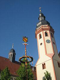 Maibaum-Engel Saumarkt Durlach
