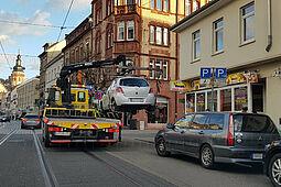 Änderung der städtischen Abschlepprichtlinien. Foto: cg