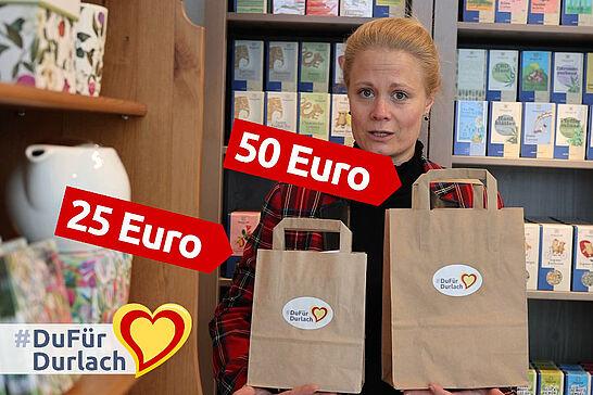 30 #DuFürDurlach: Die Durlacher-Muttertags-Überraschungs-Tüte - Eigentlich sollte ja jeden Tag Muttertag sein, aber einmal im Jahr darf es nochmal besonders werden. (1 Video)