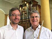 Orgel und Querflöte bei Kerzenschein. Foto: pm