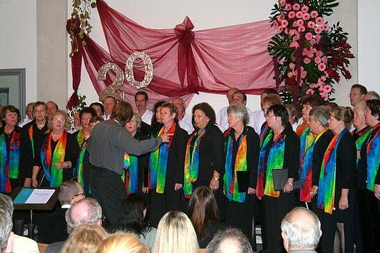 21 20 Jahre Durlacher Frauenchor - Eurovision Konzert am 21. Oktober 2007 - Es war ein sehr schönes Konzert! (15 Fotos)