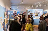 """Eröffnung der Sonderausstellung """"Landpartien"""" im Pfinzgaumuseum. Foto: cg"""