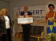 Wiggert & Co. GmbH spendet an Förderverein Sonnenschein.Foto: pm