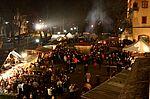 Mittelalterlicher Weihnachtsmarkt. Foto: cg