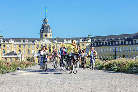 Karslruhe per Rad entdecken - Stadtrundfahrten der KTG Karlsruhe Tourismus GmbH