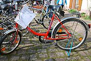 Fahrradflohmarkt der NaturFreunde Durlach an der Obermühle