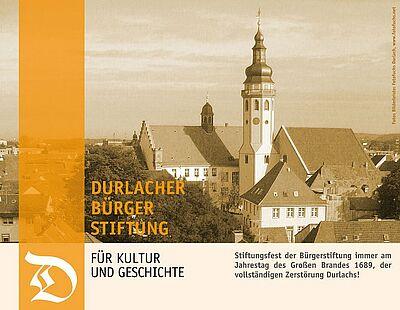 Durlacher Bürgerstiftung für Kultur und Geschichte. Grafik: pm