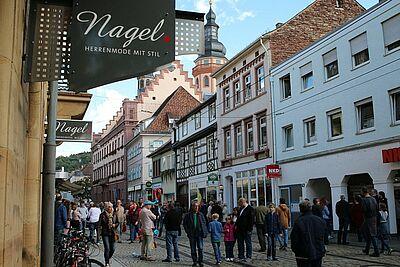 Verkaufsoffener Sonntag mit vielen Aktionen in Durlach. Fotos: cg