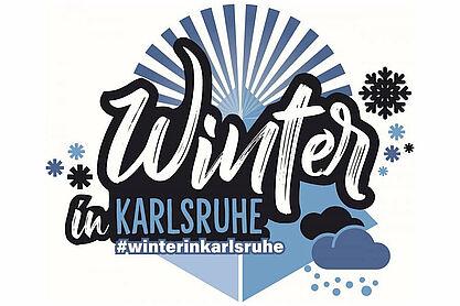 kalt aber schön – #winterinkarlsruhe. Grafik: KTG